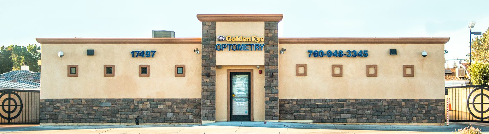 Golden Eye Optometry Building Front Picture