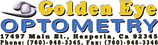 Golden Eye Optometry Logo