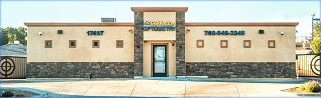The front of Golden Eye Optometry building